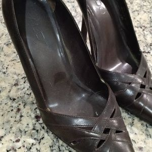 Aldo Stiletto heel. Dark Brown.  Size 35 / 5